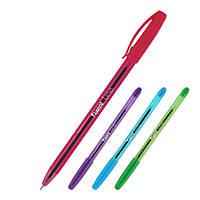 Ручка масляная AXENT Line 0,7 мм, синяя