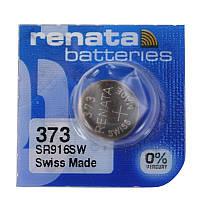 Батарейка часовая Renata 373 (SR916SW) Silver oxide