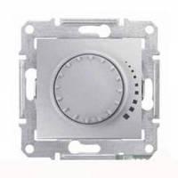 Светорегулятор проходной для емкостной нагрузки 25-325Вт/ВА Schneider Electric Серия: Sedna Цвет: алюминий