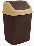 Ведро для мусора Алеана 10 л (в ассорт.)