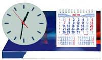 Календарь с часами