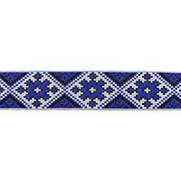 Лента арт.285 4 см. украинский орнамент