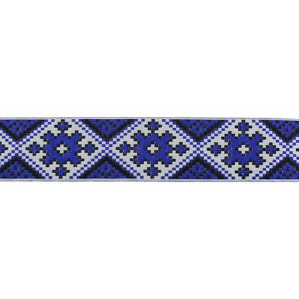 Лента арт.285 4 см. украинский орнамент, фото 2