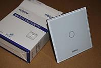 Компактный сенсорный выключатель 1 линия + диммер Kopou (Livolo). Для плавного переключения света.  Код: КГ567