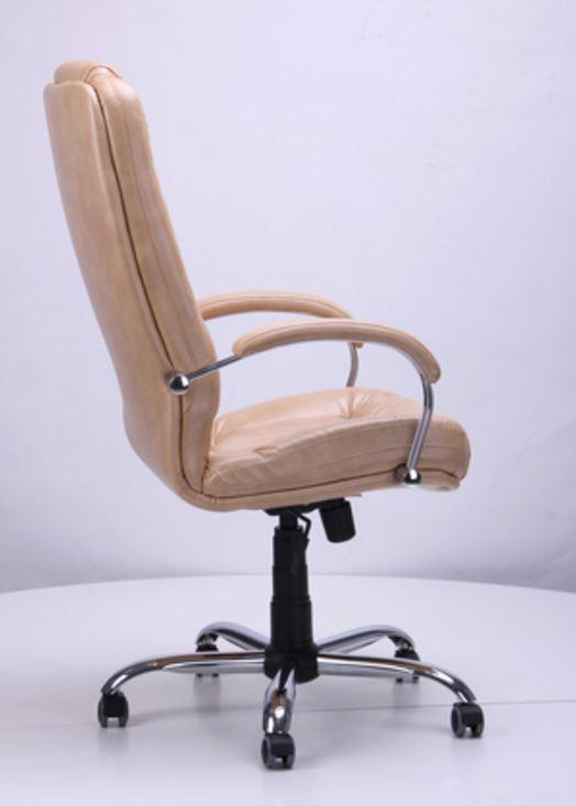 Кресло Марсель Хром Мадрас голд беж, мех. Tilt (фото 2)