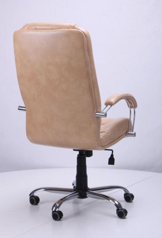 Кресло Марсель Хром Мадрас голд беж, мех. Tilt (фото 3)