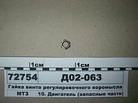 Гайка винта регулировочного коромысла (пр-во ММЗ)