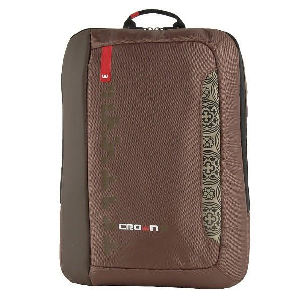 Рюкзак для ноутбука 15,6 Crown Hymn BPH-1115BN коричневый