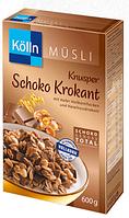 Kölln Müsli Knusper Schoko-Krokant - Мюсли хрустящие (кранчи)шоколад-грильяж, 600 г
