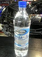 Вода дистилированная  1,0 литр.