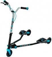 Самокат Smart-Trike Ski Scooter Z5. Голубой! Для детей от 5 лет!