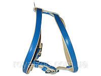 3953/1 Шлея Collar brilliance для мелких и средних пород/черная ширина 20мм,длина А45см,В:56-65см.