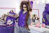 Family Look Парные жилеты Minnie с натуральным мехом , фото 2