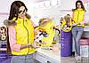 Family Look Парные жилеты Minnie с натуральным мехом , фото 4