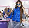 Family Look Парные жилеты Minnie с натуральным мехом , фото 7