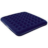 """Кровать надувная флок """"Bestway"""" 67004(203х185х22) ***"""