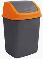 Ведро для мусора Алеана 18 л (в ассорт.)