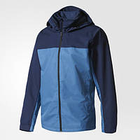Куртка с капюшоном мужская Адидас Wandertag Colorblock S99077 - 2017