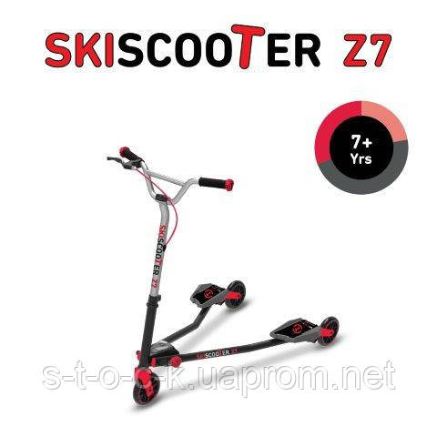 Самокат Smart-Trike Ski Scooter Z5. Красный! Для детей от 7 лет!