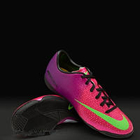 Детская футбольная обувь (футзалки) Nike Mercurial Victory IC Jnr