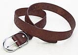 Женский коричневый кожаный пояс Louis Vuitton , фото 2