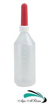 Бутылка с соской для выпойки телят, 2 л