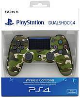 Джойстик Dual Shock 4 pro Green Camouflage ps4