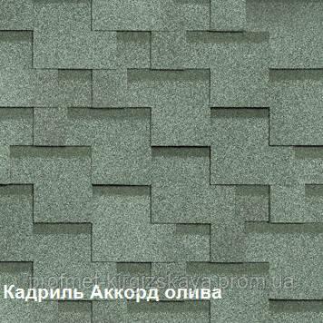 Битумная черепица Shinglas Кадриль Аккорд - ПрофМет - Мир Кровельных материалов в Харькове