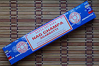 Благовония Наг чампа Satya Nag Champa 15г Индия