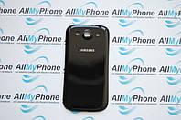 Задняя панель корпуса для мобильного телефона Samsung S3 i9300, i9305, i535, i747, T999, L710 черная