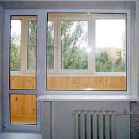 Установка балконных блоков и балконных рам