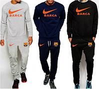 Костюм спортивный мужской черный Barcelona Барселона