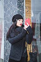Куртка женская, графит, весна, осень, зима K-BRONX1-3