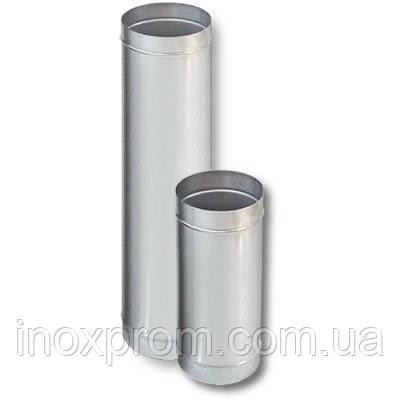 Труба для димоходу ф120 з нержавіючої сталі AISI 304 1 мм