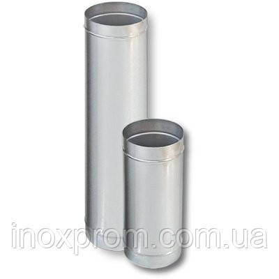 Труба для дымохода ф100 из нержавеющей стали AISI 430 0,8 мм