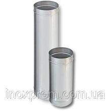 Труба для дымохода из нержавеющей стали ф100 AISI 304 0,5 мм