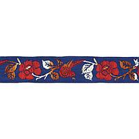 Лента тканная 2,5 см. украинский орнамент