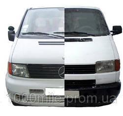 Тест-драйв: Сравниваем Mercedes Vito и Volkswagen T4 389