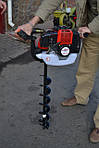 Бензиновий мотобур Победіт БМП-520: огляд моделі