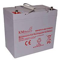 Гелевая аккумуляторная батарея KMBattery 60Ah 12V