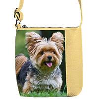 Детская сумка для девочки с маленькой собачкой