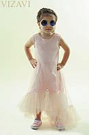 Платье детское ,Ткань : евро Сетка (мягкая , не цепляет колготки) подкладка -супер софт ,Южная Корея роле№4029