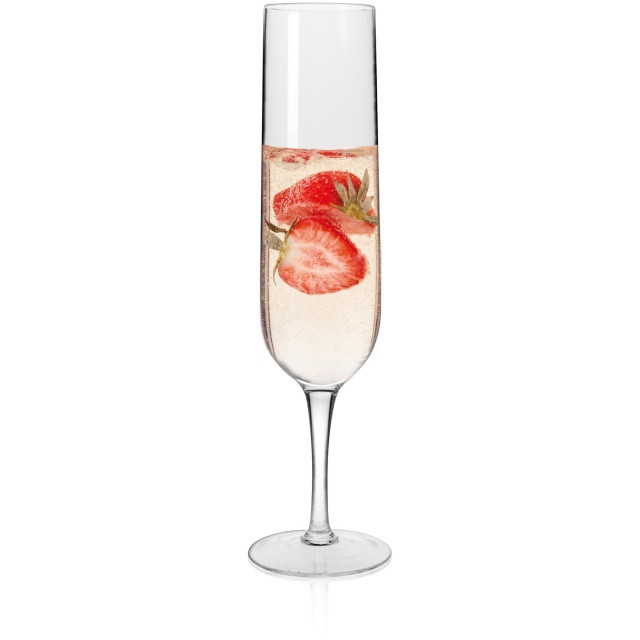 Набор бокалов для шампанского Krosno Fiesta 250 мл 6 шт F075442025007040