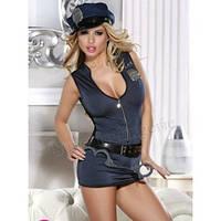 Костюм Сексуальной Полицейской, S, M, L