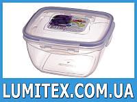 Контейнер пищевой FRESHBOX 2,4 литра квадратный пластиковый для хранения еды, продуктов
