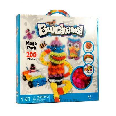 Детский конструктор Bunchems 400 Банчемс (пушистый шарик)