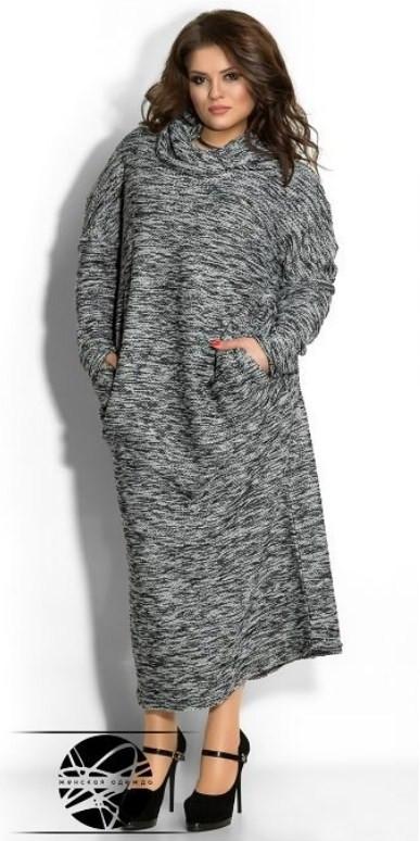 Модное женское платье, Мода плюс