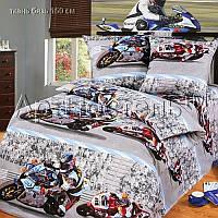 """Комплект постельного белья """"Супербайк"""", в кроватку"""