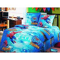 """Комплект постельного белья """"Спайдермен"""", подростковый"""