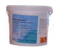 Средство для дезинфекции воды бассейна хлор шок Freshpool, 5 кг (гранулированный)